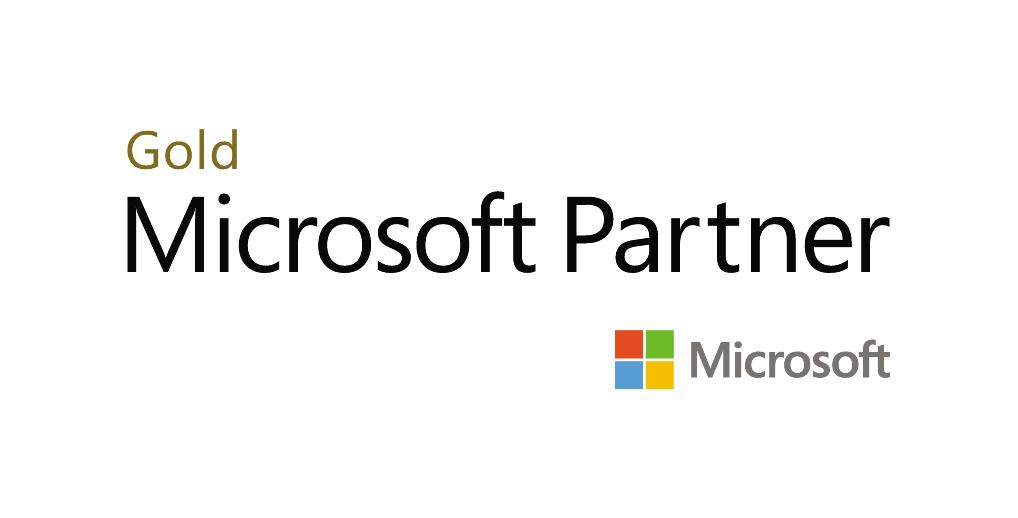 Microsoft Gold Partner Horizontal COLOUR V2