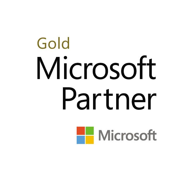 Microsoft Gold Partner Square COLOUR 2